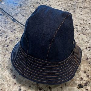 Helen Kaminski Denim bucket hat
